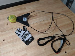 Softball training ball and glove for Sale in Hicksville, NY