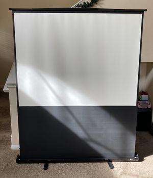 80-Inch wide Draper Professional Projection Screen with Cradle base in Excellent Conditions! for Sale in Orlando, FL