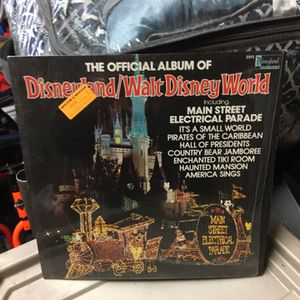 1980 The Offical Album Of Disneyland/ Walt Disney World LP Record See My Site Over 400 Collectibles for Sale in McHenry, IL