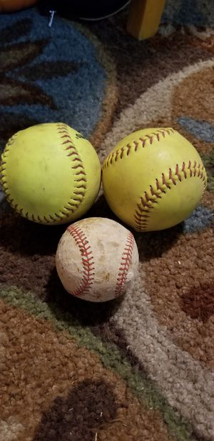 3 balls for Sale in Colorado Springs, CO