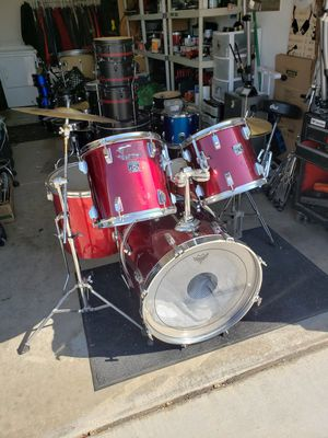 Tama Swingstar complete drum set with hardware and cymbals for Sale in Phoenix, AZ
