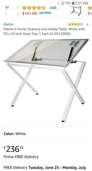 Drawing/hobby table (new) for Sale in North Tonawanda, NY