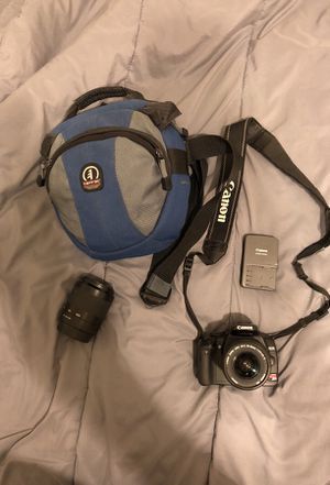 Canon EOS Rebel XTI for Sale in San Angelo, TX