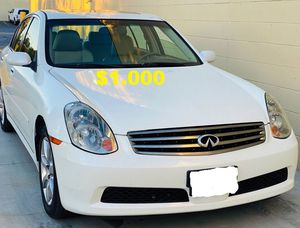 🎁$1000_2005 Infiniti G35 CLEAN TITLE 🎁 for Sale in El Monte, CA
