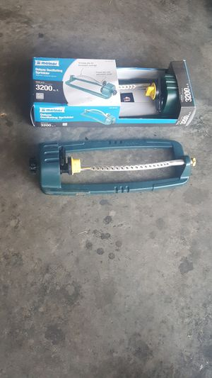 DELUXE OSCILATING SPRINKLER for Sale in Nashville, TN