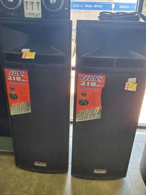 2 Vegas 218 Speakers for Sale in Round Rock, TX