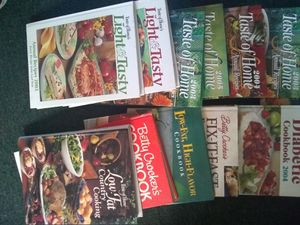 Cook books and more for Sale in Williamsport, PA