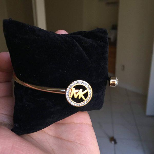 Mk Michael kors cuff bangle