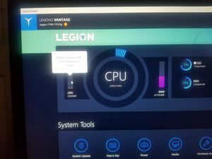 Selling lenovo legion y740-17ich for Sale in Tallahassee, FL