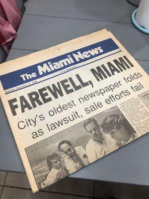 Final Miami News for Sale in West Miami, FL