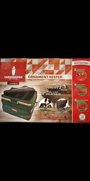 TREEKEEPER 72 XMAS ORNAMENT STORAGE UNOPENED BOX for Sale in Pasadena, CA