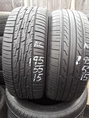195/55-15 #2 tires for Sale in Alexandria, VA