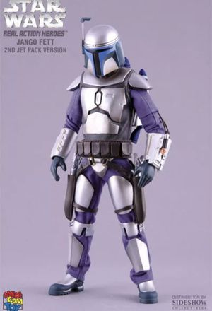 MEDICOM Sideshow 1:6 Scale Star Wars Jango Fett Pose-able 12'' Man Action Figure Doll Toy. Sealed for Sale in Fort Lauderdale, FL