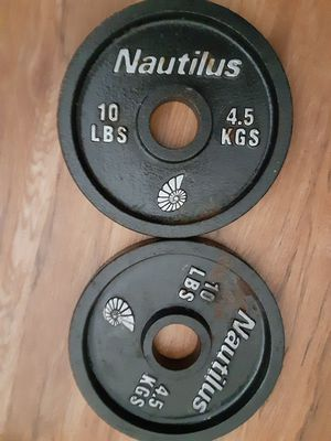 10 lb nautilus for Sale in San Diego, CA
