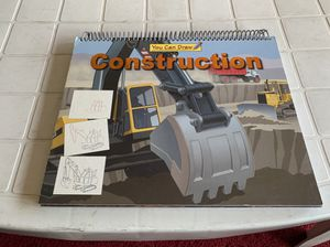 You Can Draw Construction Vehicles Book Brand New for Sale in Boston, MA