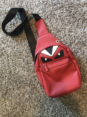 Red Fendi Monster Bag for Sale in College Park, GA