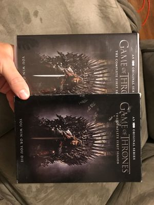 Game of Thrones Complete First Season!!! for Sale in Wichita Falls, TX