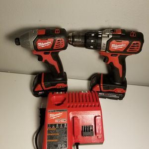 Milwaukee hammer Drill And Impact Driver for Sale in Aurora, CO