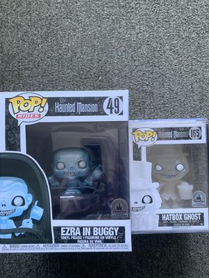 Funky Pop Disney Haunted Mansion Hatbox ghost and Ezra in Buggy for Sale in Pacifica, CA