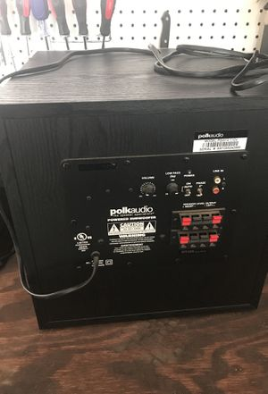 Polk audio 10' subwoofer for Sale in Clayton, NC