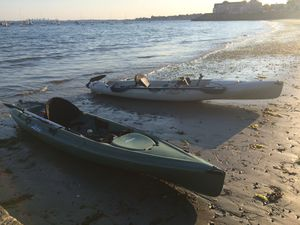 Two Hobie kayaks - Quest Fisherman and Mirage Revolution 13 for Sale in Swampscott, MA