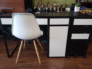 IKEA-MICKE Desk w/ Drawer Unit & Chair for Sale in Hayward, CA