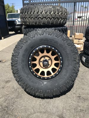 Method Race Wheels MR 305 NV Bronze with 38x13.50xR17 Milestar Patagonia M/T for Sale in Montclair, CA