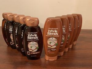 10 Garnier whole blends shampoos and conditioners for Sale in MD, US