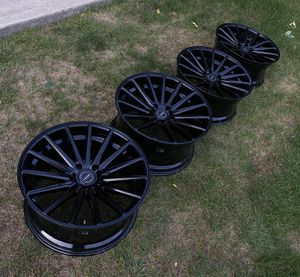 Vossen VFS 2 Gloss Black Rims Wheels for Sale in Willow Springs, IL