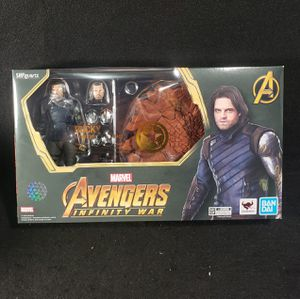 SH Figuarts Avengers Bucky with Tamashii Effect Action Figure for Sale in MONTE VISTA, CA