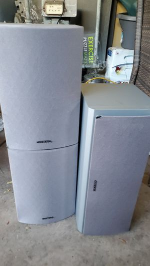 ONKYO speakers set of 3 for Sale in Sunnyvale, CA