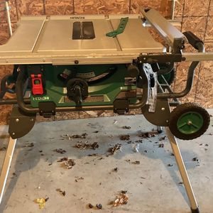 Hitachi C10RJ Table Saw for Sale in Port Deposit, MD