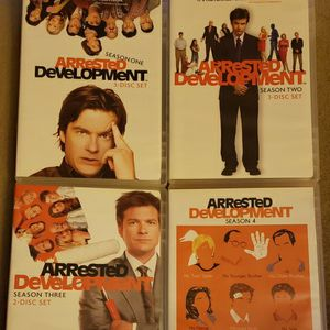 "SLIGHTLY USED ARRESTED DEVELOPMENT DVD SEASONS 1-4 ""MAKE ME AN OFFER"" for Sale in York, PA"