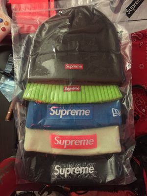 Supreme F/W 19',18', 17' Box Logo Beanies for Sale in Fort Belvoir, VA