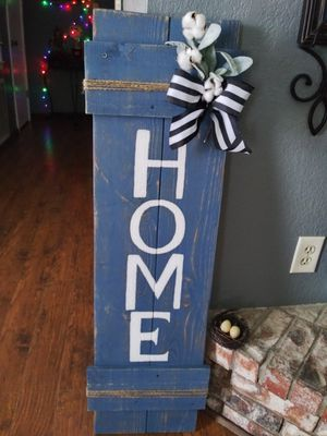 Rustic home sign for Sale in Mesquite, TX
