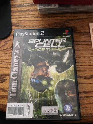 Splinter Cell Choas Theory for PlayStation 2 for Sale in Lewis Center, OH