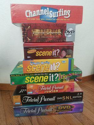 Board Games (scene it & trivial pursuit & more) for Sale in Suisun City, CA