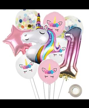 Unicorn balloons for Sale in Irving, TX
