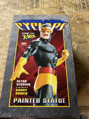 BOWEN DESIGNS CYCLOPS RETRO VERSION STATUE, LIMITED EDITION for Sale in South Plainfield, NJ
