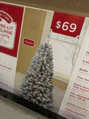 Christmas tree and decoration for Sale in Bridgewater, MA