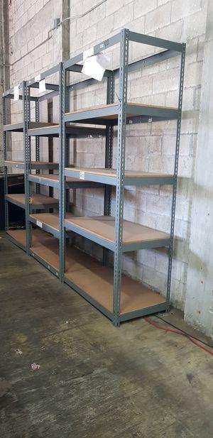 Storage Shelves 5 set @ $25 each for Sale in Miami, FL