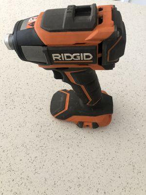 "Ridgid 18v Impact Driver Brushless Gen5x 1/4""hex Power Tool Screw Gun (no battery) for Sale in North Miami, FL"