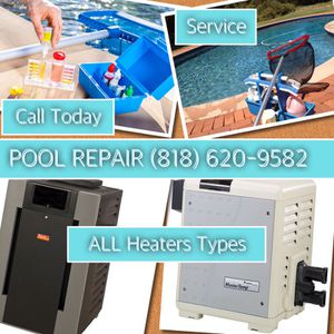 Pool Repair Heater, Lights ,Motor, Spa, Fountain for Sale in Los Angeles, CA
