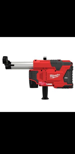 New Milwaukee M12 12-Volt Lithium-Ion Cordless HammerVac Universal Dust Extractor Kit ((2) 1.5Ah Batteries, Charger & Case) for Sale in Glendale, AZ