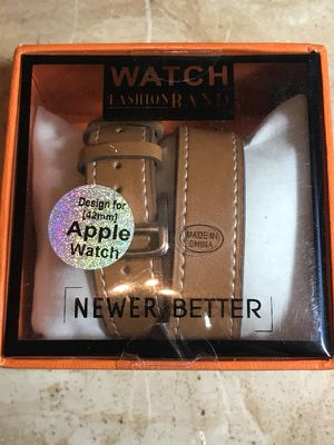 Apple Watch double tour band 42 mm for Sale in West Valley City, UT