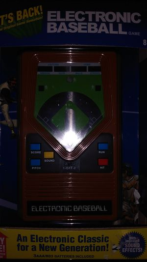 Electronic baseball game for Sale in La Mesa, CA