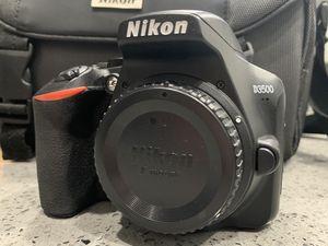 Nikon D3500 DSLR Camera W/ 3 lenses & Camera Bag for Sale in Fontana, CA