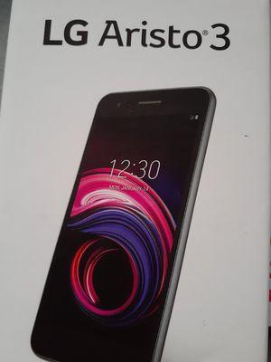 UNLOCKED LG Aristo 3 new open box for Sale in Renton, WA