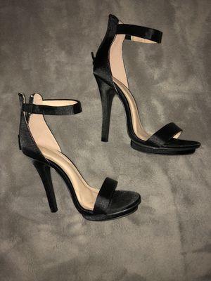 Wild Diva black satin heels for Sale in Federal Way, WA