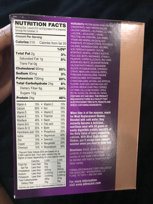 Vanilla Flavored Advocare Meal